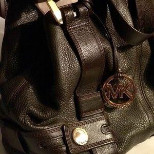 Michael Kors Bags - Michael Kors brown leather hobo bag